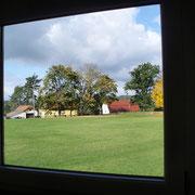 Unser Sportplatz direkt vor der Tür