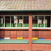 Bienenhaus im Institut