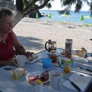 ein schöner Frühstücksplatz