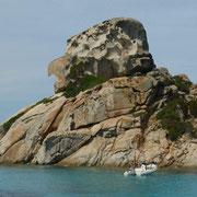 unterwegs im Insel-Archipel vor Palau