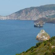 tolle Küstenlandschaft bei Nebida mit dem Pan di Zucchero