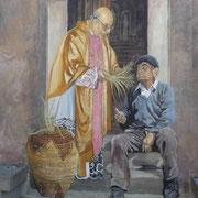 Wandmalerei in Tinnura