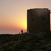 Sonnenuntergang am Torre Domestica