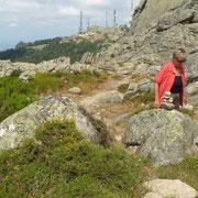 unterwegs zum Monte Limbara
