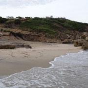 Strand und Stellplatz
