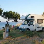Stellplatz Area Camper Punto Maragnoni bei Valledoria