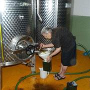 beim Olivenöl-Kauf in Seneghe