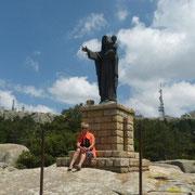 am Fuße der Madonna di Neve