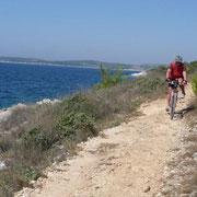 radeln in Istrien