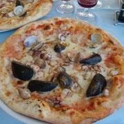 die beste Pizza in diesem Urlaub