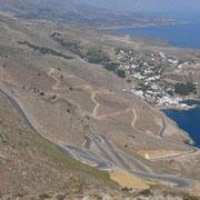 Carrera-Rennbahn zw. Chora Sfakion und Anopoli
