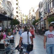 gelöste Stimmung in Patras