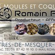 Romain Fohanno Producteur d' huîtres et coquillages dans la baie de Mesquer Penbé
