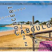 Restaurant Bar Concert Le petit Caboulot, Plage de Sorlock