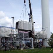 Einbau Economiser für einen Energieversorger