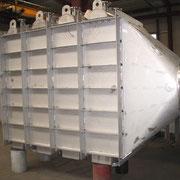 Stickstoff-Vorwärmer aus Edelstahl