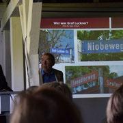 Luckner-Vortrag von Uwe Jenisch. Foto: Gisela Gülzow