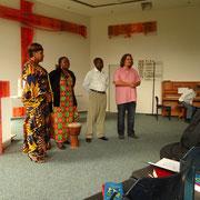 Besuch im evangelischen Gottesdienst in Karsau
