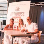 Beim Partnertreffen 2017 mit Roland Liebscher-Bracht und Petra Bracht