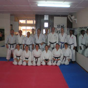 Training im Dojo Sensei Tan, Kuala Lumpur 2007, (Asienreise mit unserem Karate Dojo)