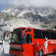 Marmorsteinbrüche Carrara - Italien