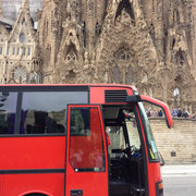 Sagrada Familia - Barcelona (Spanien)