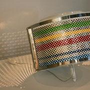 Trottola, lampada di Angela Pozzetti. RICICLARTI 2011- cantiere d'arte ambientale