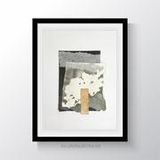 collage series 2018. Collage auf Papier 21x28,5 cm.