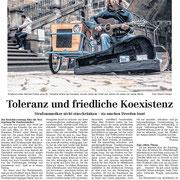 Zeitungsausschnitt DNN