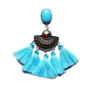 BO aztèques turquoise