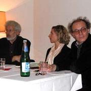 Ein Teil der DiskutantInnen: Gerhard Botz, Verena Krausneker, Ronald Pohoryles (v.l.n.r)