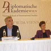 Margareta Stubenrauch und Johannes Voggenhuber