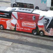 Freiburger Mannschaftsbus