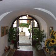 Entrance area towards the yard.