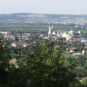 Blick auf Klosterneuburg.