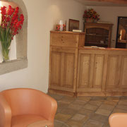 Welcome in Klosterneuburg - the Reception Area