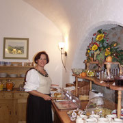 We are well known for our excellent breakfast buffet.