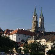 Stift Klosterneuburg vom Niedermarkt