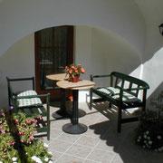 Veranda at the Inneryard.