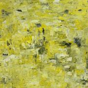 Yellow - 100x100 cm, Acryl auf Leinwand