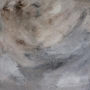 Wind 3 - 100x100 cm, Acryl auf Leinwand - 2016