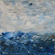 Ocean 1 - 50x50 cm, Acryl auf Leinwand - 2016