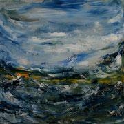 Ocean 6 - 50x50 cm, Acryl auf Leinwand- 2016