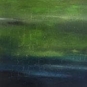 Blau 8 - 100x100 cm, Acryl auf Leinwand