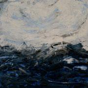 Ocean 4 - 50x50 cm, Acryl auf Leinwand- 2016