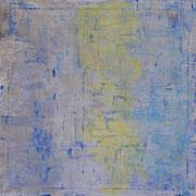 Blau 4 - 100x100 cm, Acryl auf Leinwand - 2016