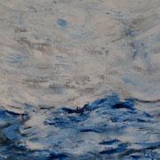 Ocean 7 - 70x100 cm, Acryl auf Leinwand- 2016