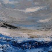Ocean 8 - 80x60 cm, Acryl auf Leinwand- 2016