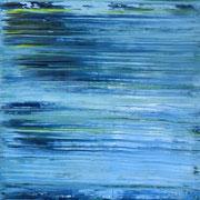 Blau 3 - 100x100 cm, Acryl auf Leinwand - 2016