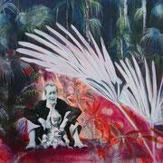 For ever ...   100 cm x 140 cm   Eitempera, Acryl, Öl auf Leinwand